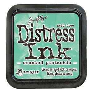 Tim Holtz - Distress Ink Pad - Full Size - Cracked Pistachio - Green