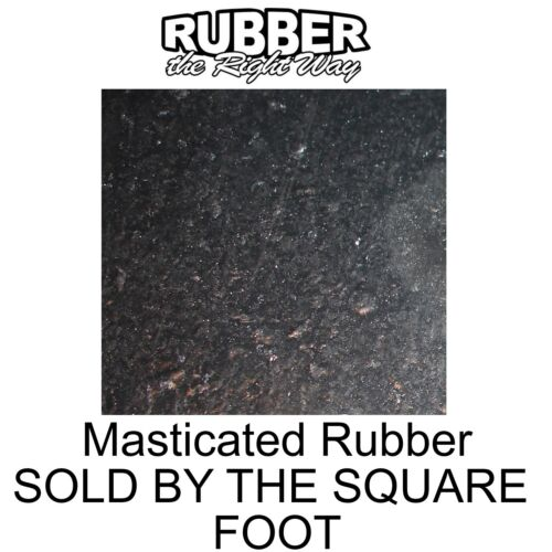 Used by American Car Manufacturers 1930/'s-1980/'s Masticated Rubber Per SQFT