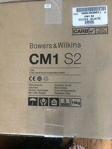Bowers-And-Wilkins-CM1-S2-Speakers-Gloss-Black-New