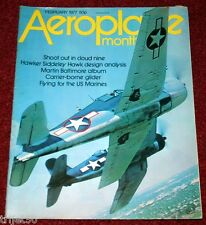 Aeroplane Monthly 1977 February Hawk,Czech,USMC,Curlew,VS-44A,FE8