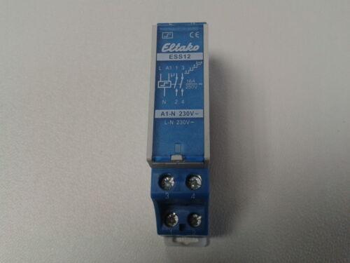 #62 Eltako ESS12-230V UC Elektronischer Stromstoß Serienschalter