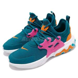 size 40 45600 ffc03 Image is loading Nike-React-Presto-GS-Green-Abyss-Laser-Fuchsia-