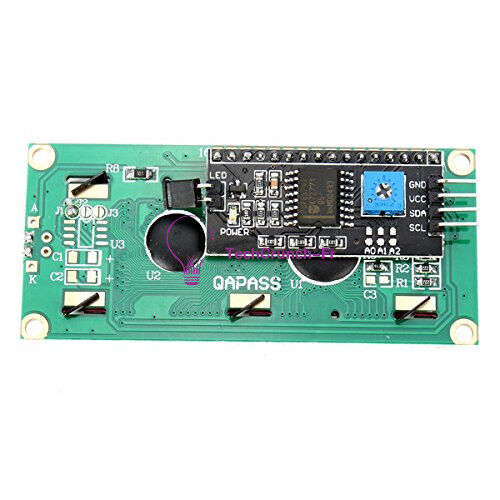 IIC//I2C//TWI//SP​​I Interface Blue//Yellow1602 2004 Character LCD Module Display