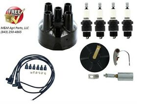 Complete Ignition Tune Up Kit /& Coil MCCORMICK DEERING W-6 W6-TA SUPER W-4 /& W-6