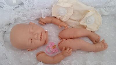 Fashion Style Kit Baby Doll Realistico Elsa Arto Completo + Disco 20in Corpo Snodato Inc Rosa Manichino-mostra Il Titolo Originale
