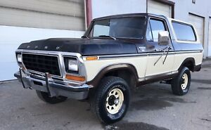 1979 Ford Bronco XLT Ramger