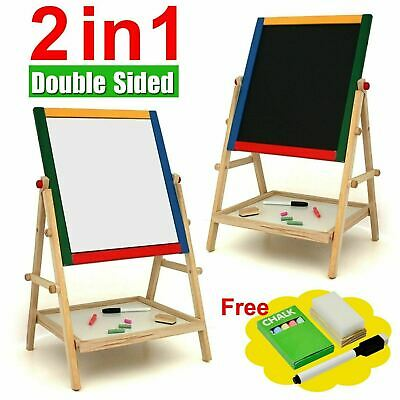 Blackboard Whiteboard Easel Chalk