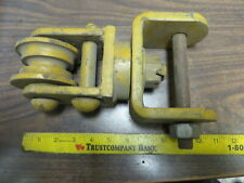 Rope Cable Hoist Rigging Swivel Pulley 11 X 6 Assembly