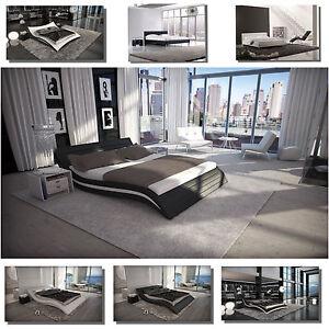 Luxus Designer Wasserbett Komplett Mono Dual Podest Zubehor Bett