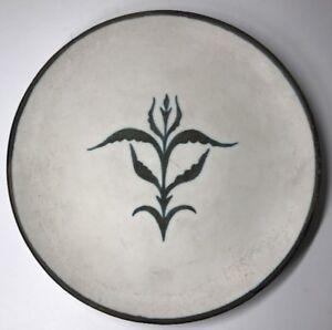 Tres-Rare-Assiette-Kergonan-Ceramique-De-Bretagne-Rene-Yves-Creston-Probablement