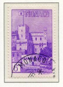 Ordonné Timbre De Monaco Oblitere N° 279 Vue De La Principaute Soyez Astucieux Dans Les Questions D'Argent