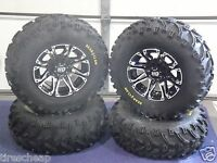 Polaris Ranger 25 Bear Claw Atv Tire & Atv Wheel Kit Life Warranty Ss3