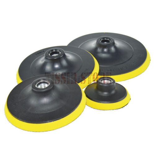"""M14 thread Yellow Grip Mount Backing Plate Choose the Size from 3/"""" to 7/"""""""