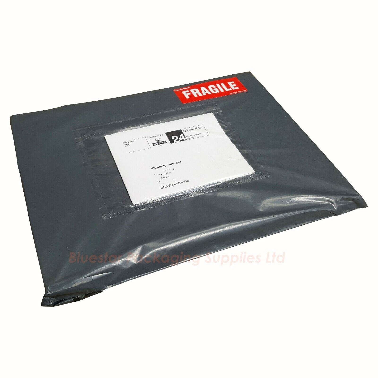 """250x350mm Post Mail Packing Sacks 25x Green Plastic Mailing Bags 10x14/"""""""