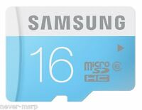 Samsung Micro Sd 16gb Microsdhc Class 6 Up To 24mb/s Memory Card - Mb-ms16d