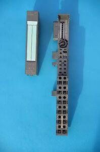 Siemens-Simatic-PLC-ET200S-4-DI-6ES7-131-4BD01-0AA0-Bus-Module