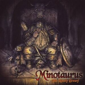 MINOTAURUS-The-Lonely-Dwarf-CD-2009-free-sticker-Ancient-Epic-Metal