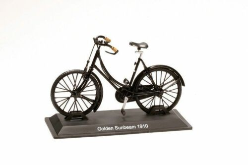 Kollektion Fahrrad 1:15 Golden Sunbeam 1910 Metal Model dBIC009