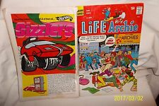 VINTAGE COMICS - ARCHIE SERIES - JANUARY 1971 - LIFE WITH ARCHIE  #105