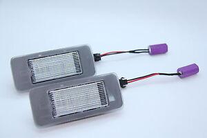2x TOP LED SMD Kennzeichenbeleuchtung Nummernschild beleuchtung (031906)