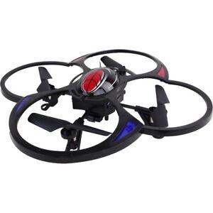 quadrocopter drohne mit kamera 2 4ghz 6achsen 2gb sd led. Black Bedroom Furniture Sets. Home Design Ideas