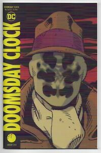 Doomsday Clock 1 Lenticular Cover 1st New Rorschach Mime