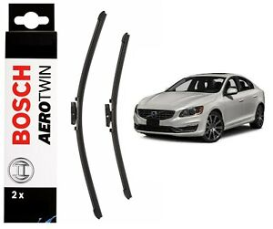 Bosch-Front-Windscreen-Wiper-Blades-Aerotwin-650mm-500mm-Volvo-S60-2010-2018