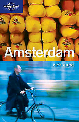 """""""AS NEW"""" Bender, Andrew, Amsterdam (Lonely Planet City Guides), Paperback Book"""