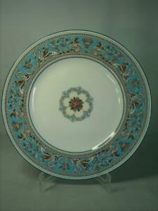 Wedgwood Turquoise FLORENTINE Dinner Plate W2714 10.75 Inches 27.25cm