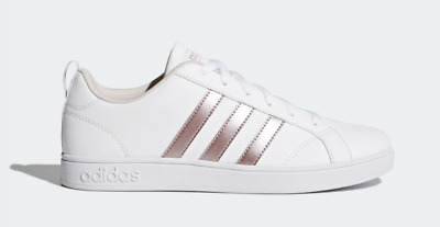 SCARPE DONNA ADIDAS VS ADVANTAGE BIANCO CASUAL SNEAKERS