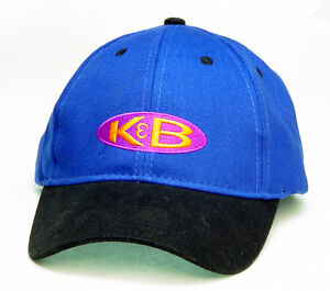 Embroidered K&B engine flying cap hat