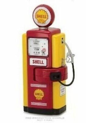 Vintage Gas Pump 1:18 Gulf Oil Series 7 Greenlight
