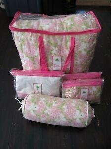 Lilly Pulitzer Butterfly Garden Queen Comforter Bedskirt 2 ...