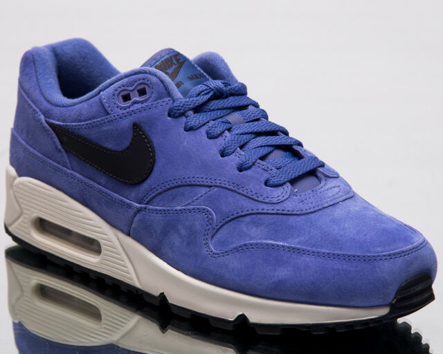 best service 4cace f8b8f Nike Air Max 90/1 Men Lifestyle Shoes Purple Basalt 2018 Sneakers AJ7695-500