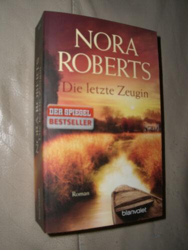 1 von 1 - Nora Roberts: Die letzte Zeugin