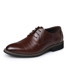 2c8ec05f4064a2 Men s Formal Leather Business Oxfords Shoes Comfortable Casual Leisure Shoes  HOT