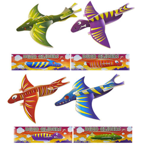Pinata Toy Loot//Party Bag Fillers Wedding//Kids 12 Dinosaur Gliders
