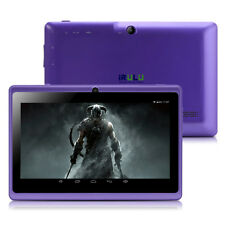"iRULU 7"" inch Android 4.4 MID Tablet PC 16GB 1024*600 Quad Core 1.5MHz Dual Cam"