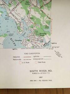 Details about Chesapeake Bay,Potomac,Wicomico,South,Patuxent River Topo  Maps Historic Maryland