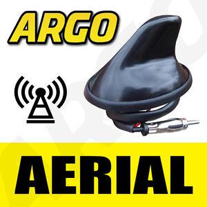 12V-BLACK-SHARK-FIN-AERIAL-AERO-CAR-ANTENNA-RADIO-GPS-WORKING-AM-FM-MAST-ROOF