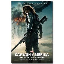 Black Widow Scarlett J 24x36 Captain America The Winter Soldier Movie Poster