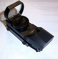 Red / Green Reflex Dot Sight Fits Dovetail Or Picatinny. Nice On Crosman Airguns