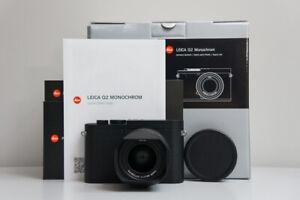 Brand New Leica Q2 Monochrom - Matt Black B&W Camera (19055) Summilux 28mm
