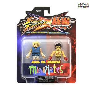 Street Fighter X Tekken Minimates Series 2 Complete Set