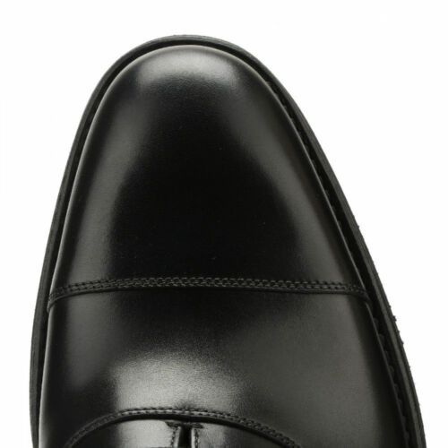 Mens Loake Orion Black Leather Welted Lightweight Oxford Toe Cap Lace Up Shoes