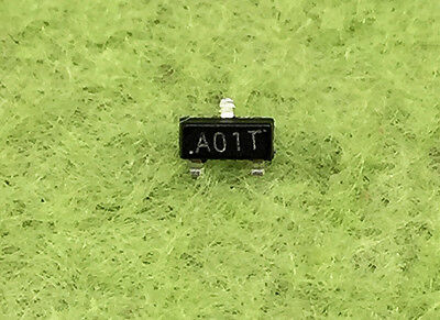 200Pcs AO3400 A09T A01T 30V N-Channel Mosfet SMD Sot23