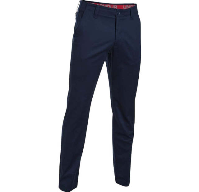Under Armour UA Performance Textured Chino Pants Mens Tapered Charcoal Gray