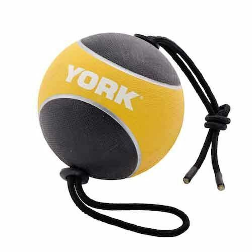 York Fitness Medicine Ball with Rope Wall Ball Gymnastic Equipment 3KG 4KG 5KG