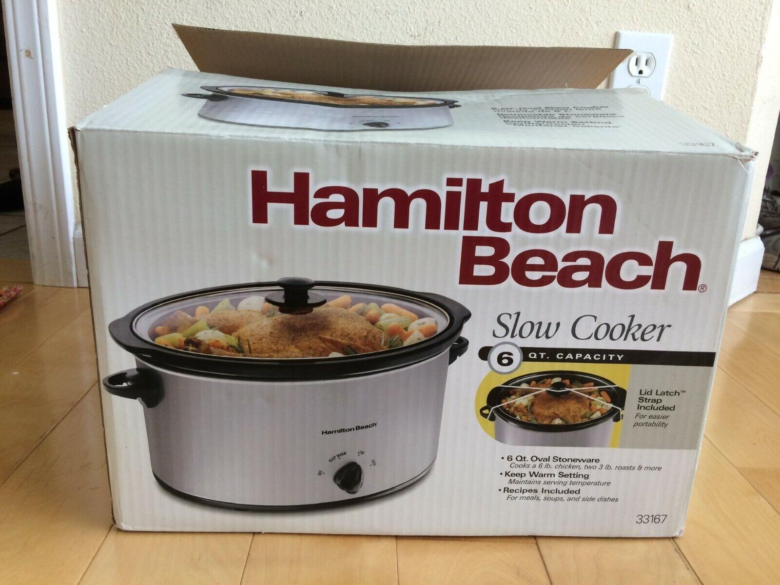 Slowcooker Hamilton Beach 33167 6-qt
