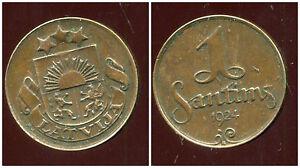 LETTONIE-1-santims-1924